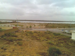 Korangi Creek Before Rain